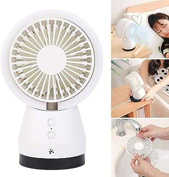 Mini Ventilador de Escritorio y Mesa purificador de Aire ...