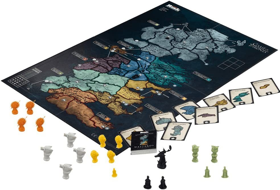 Risk juego de tronos tablero de juego