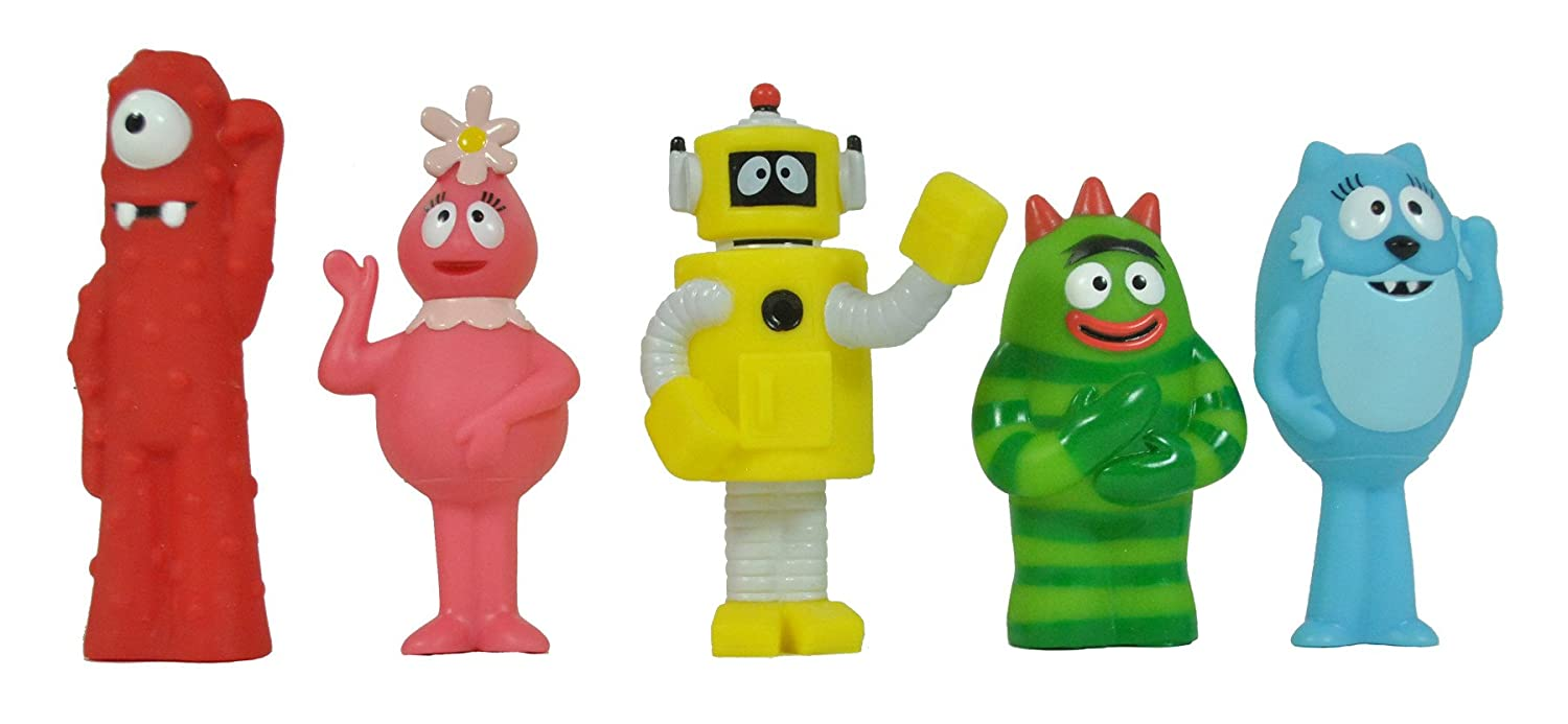 amazon com yo gabba gabba multipack 5 figure toys u0026 games