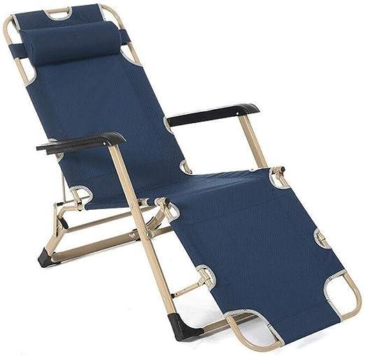 Home outdoor / Silla reclinable portátil ajustable terraza Hamaca ...