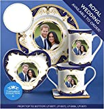 Royal Heritage - Designed in England Harry and Meghan Markle Decorative Wedding Plate 6-Inch 6