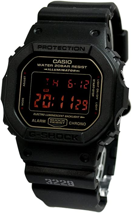 Amazon.com: G-Shock Mens Classic Collection watch #DW-5600MS-1: Casio: Watches