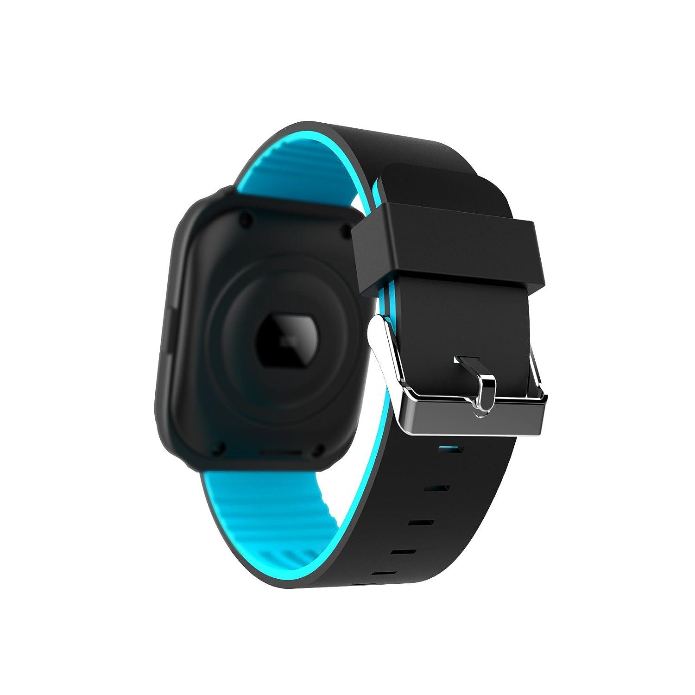 hangang Z40 Bluetooth Smart Watch Tensiómetro Frecuencia Cardíaca Smart Watch Hombres Call Message Reminder dispositivos portátiles Holiday Gift Watch, ...
