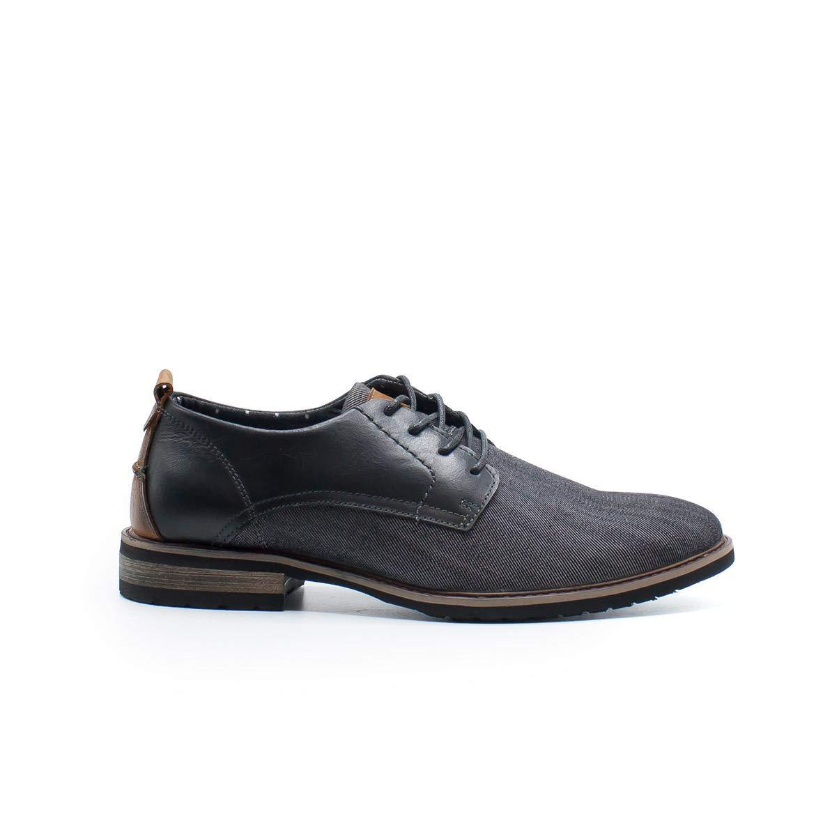 Zapshop Z80501 Zapato Casual de Vestir de Color Negro para Hombre