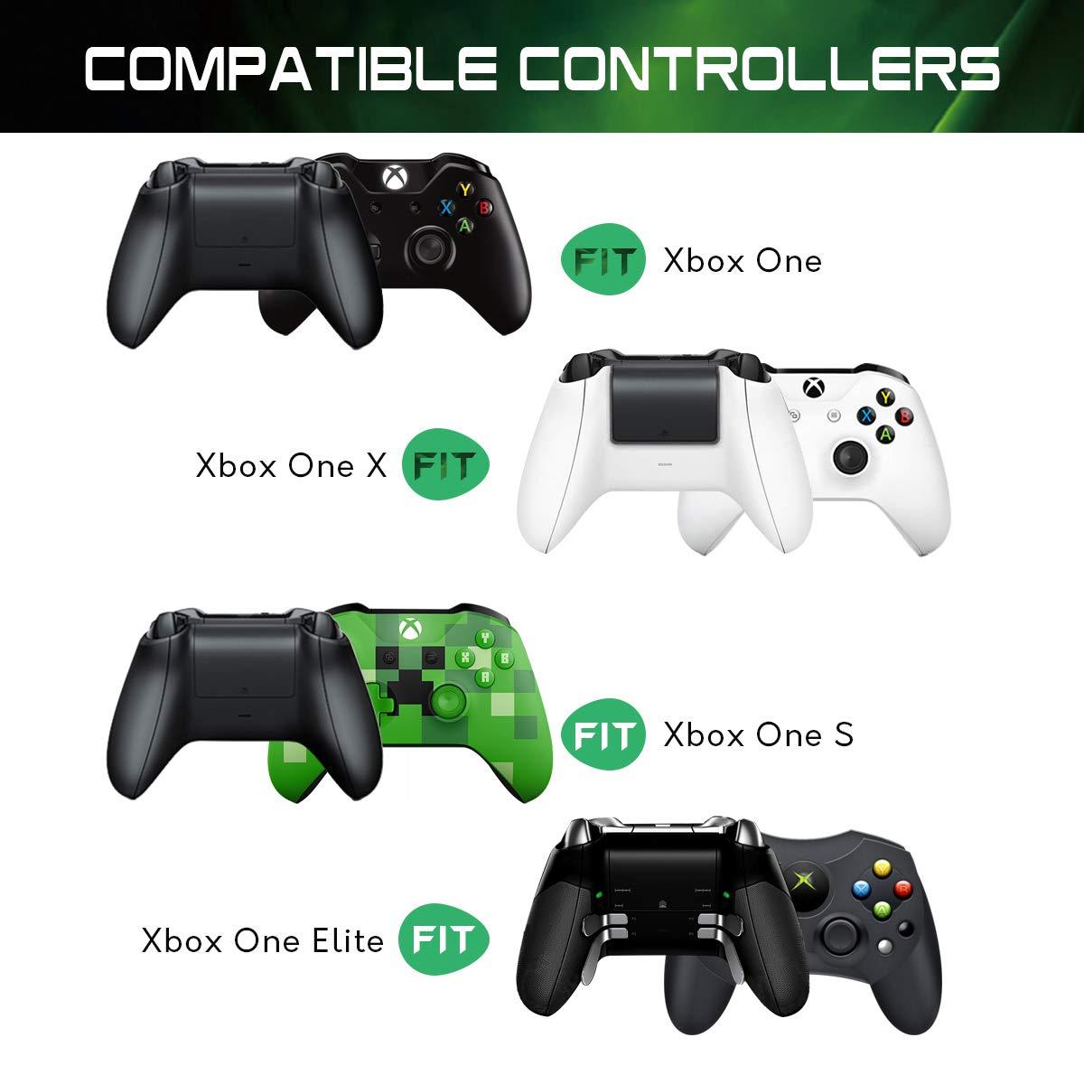 Cargador Controlador Xbox One, slopehill Doble Estación de ...