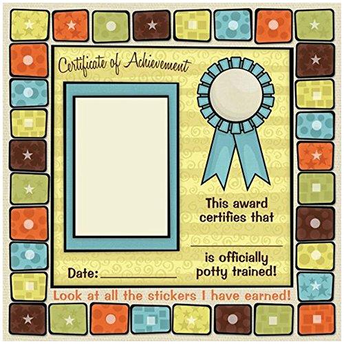 KAREN FOSTER 64475 Design Scrapbooking Paper, 25 Sheets, Potty Certificate, 12 x 12