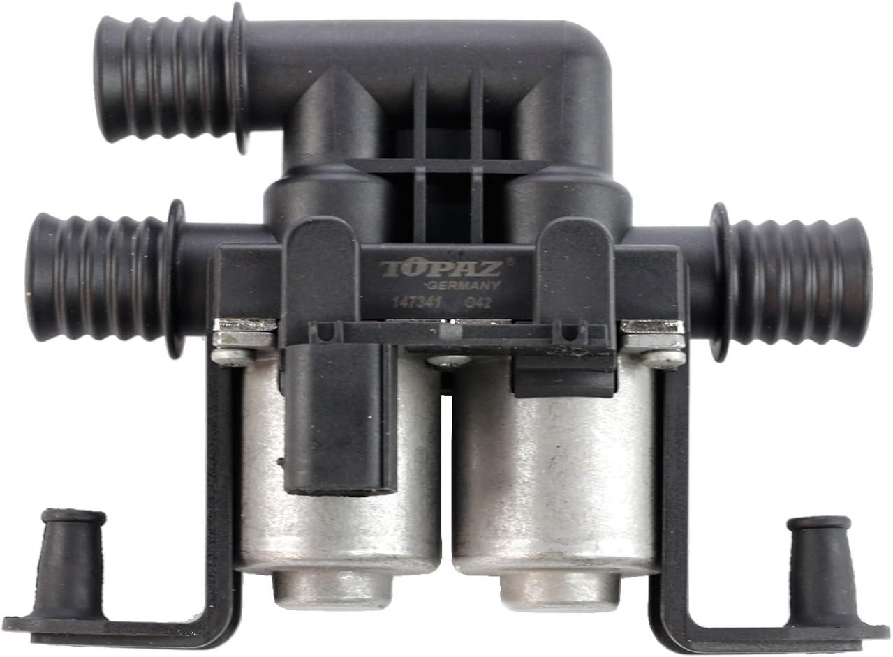 Heater Control Water Valve For 04-16 BMW E53 E70 X5 E71 X6 F15 F16 64116910544