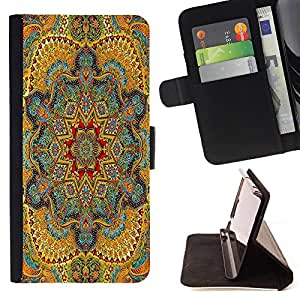 Jordan Colourful Shop -Aztec Tribal Vintage Mandala -- Leather Case Absorciš®n cubierta de la caja de alto impacto FOR Samsung Galaxy S3 MINI I8190 ---