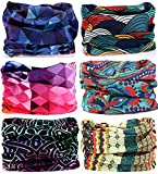 Best Bandanas - Kalily Pack of 6pcs Headband Bandana - Versatile Review