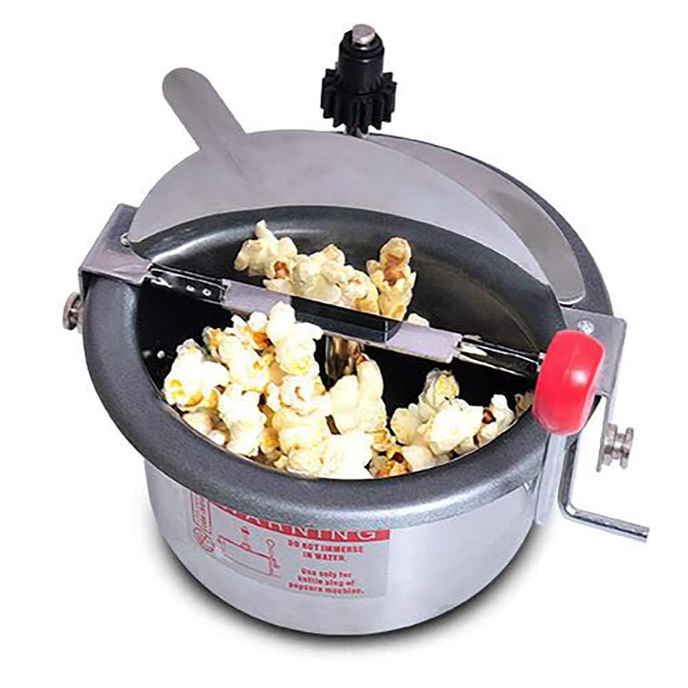 LKSIING Machine /à Popcorn Machine /à Ma/ïs Souffl/é Design R/étro des Ann/ées 50 Mixer 310 W Temps de Chauffe Court Amovible de Grande Capacit/é Pop Corn Professionnelle