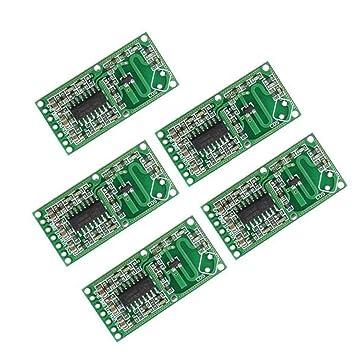 Hjhjghj 5 Piezas RCWL-0516 4-28V 3mA Sensor de Radar de ...
