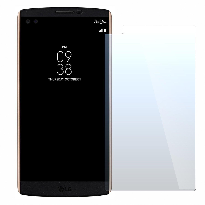 NEVEQ Cristal Templado Protector de Pantalla para LG V10 Vidrio ...