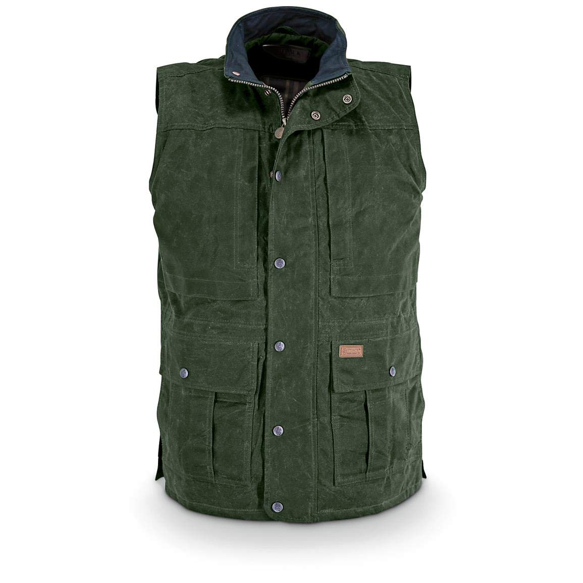 Outback Trading Company Deer Hunter Oilskin Vest, Green, XL by Outback Trading