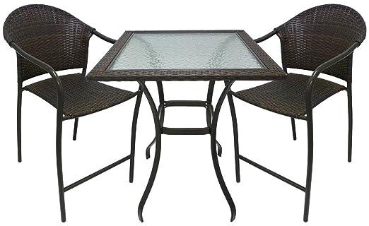 Set completo salotto tavolo Alto in Pvc e sgabelli acciaio per casa ...