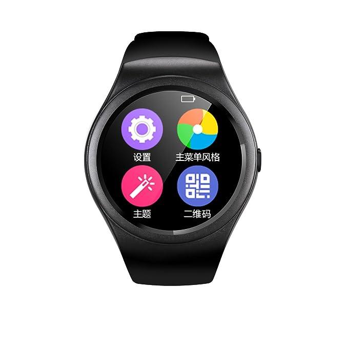 ishenzu reloj inteligente con control de movimiento brillante en función rotatoria carga apoyo tarjeta SIM Bluetooth