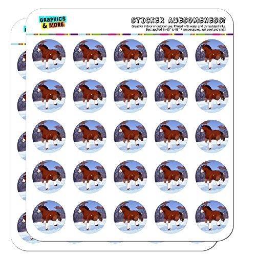 Clydesdale Sticker - 6