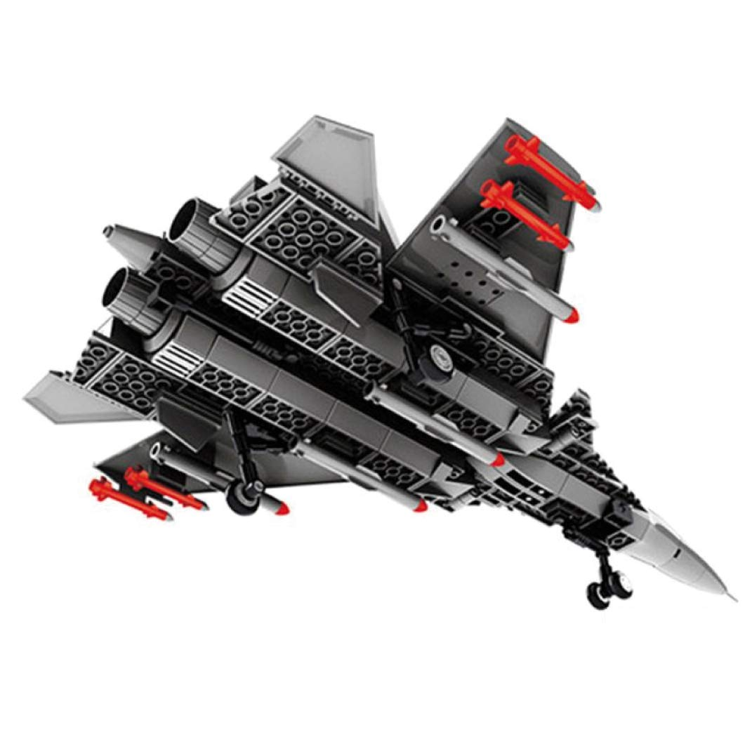 Modelo de avi/ón de Ataque para armar con Bloques WANGE Maqueta de J-15 Aeromodelismo 1:54.