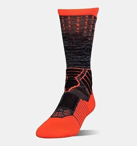 c801fe50d9 Under Armour Men's Basketball Crew Socks, Size Large,