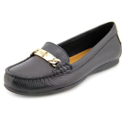 Womens Shoes COACH Olive Black Pebble Grain Leather