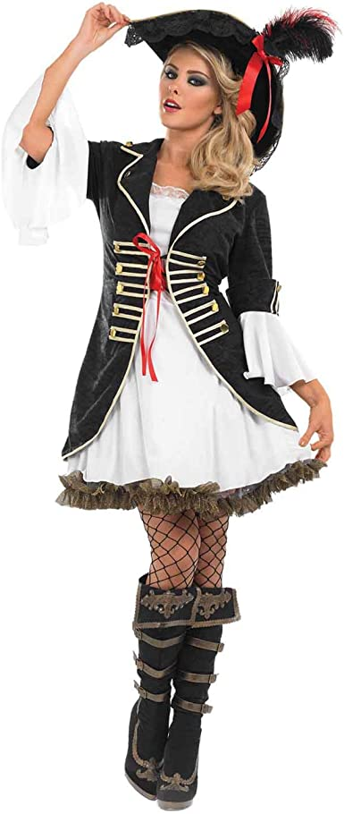 Adults Pirate Accessories Mens Ladies Buccaneer Captain Fancy Dress Costume