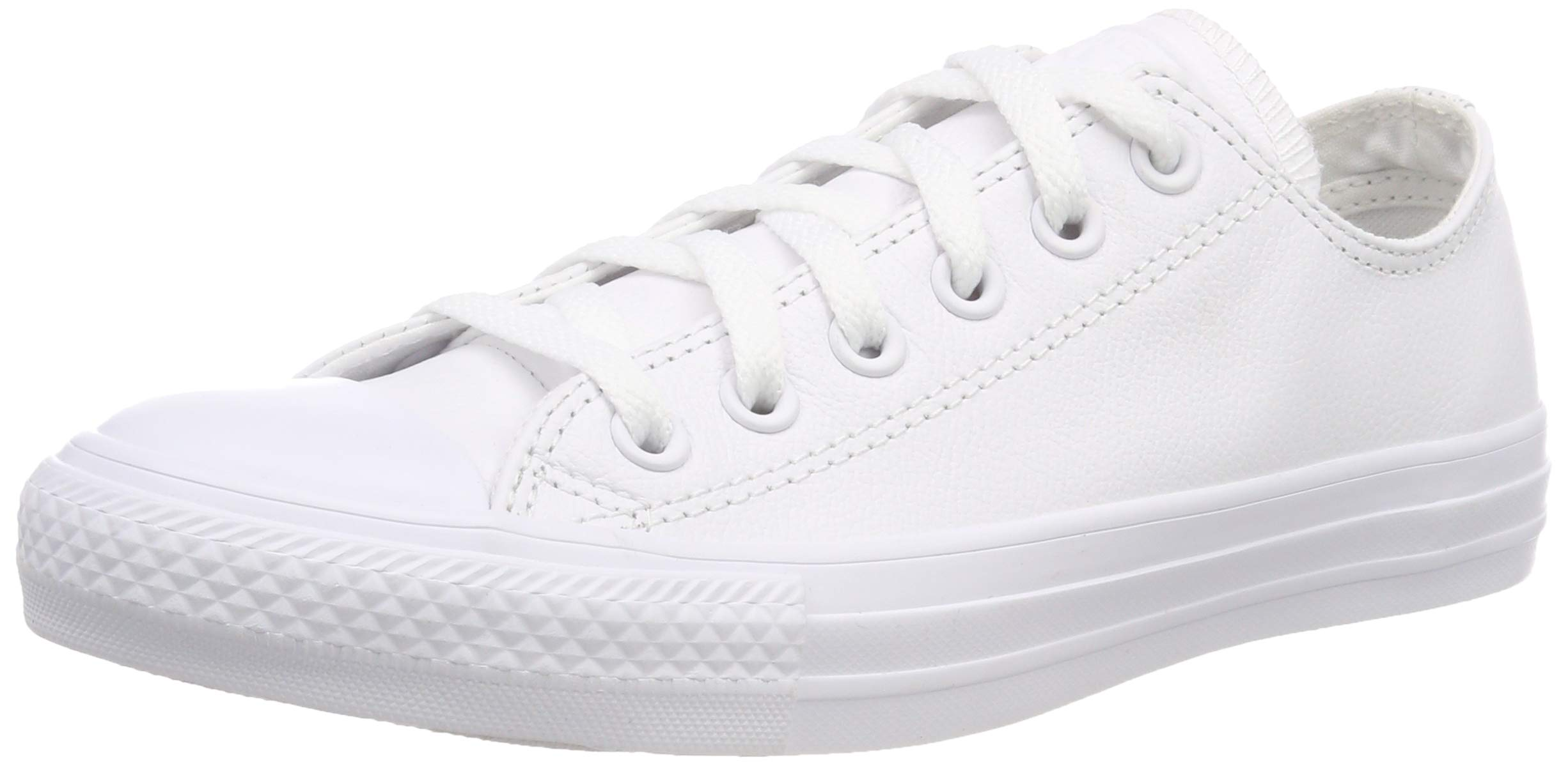 a0432ab39595 Galleon - Converse Unisex Chuck Taylor All Star Ox Low Top Classic White  Leather Sneakers - 8 B(M) US Women   6 D(M) US Men
