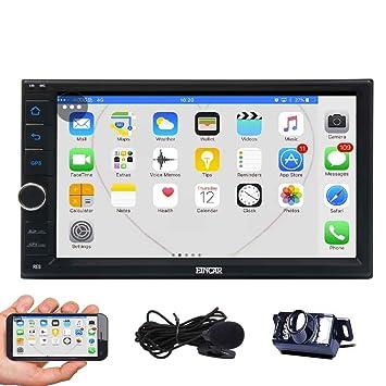 7 pulgadas Android 6.0 EinCar estéreo Quad Core coche con GPS Doble Din pantalla táctil en