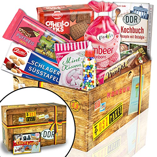 Nostalgie Box / Süßigkeiten aus der DDR / Geschenke zum Geburtstag für Freund