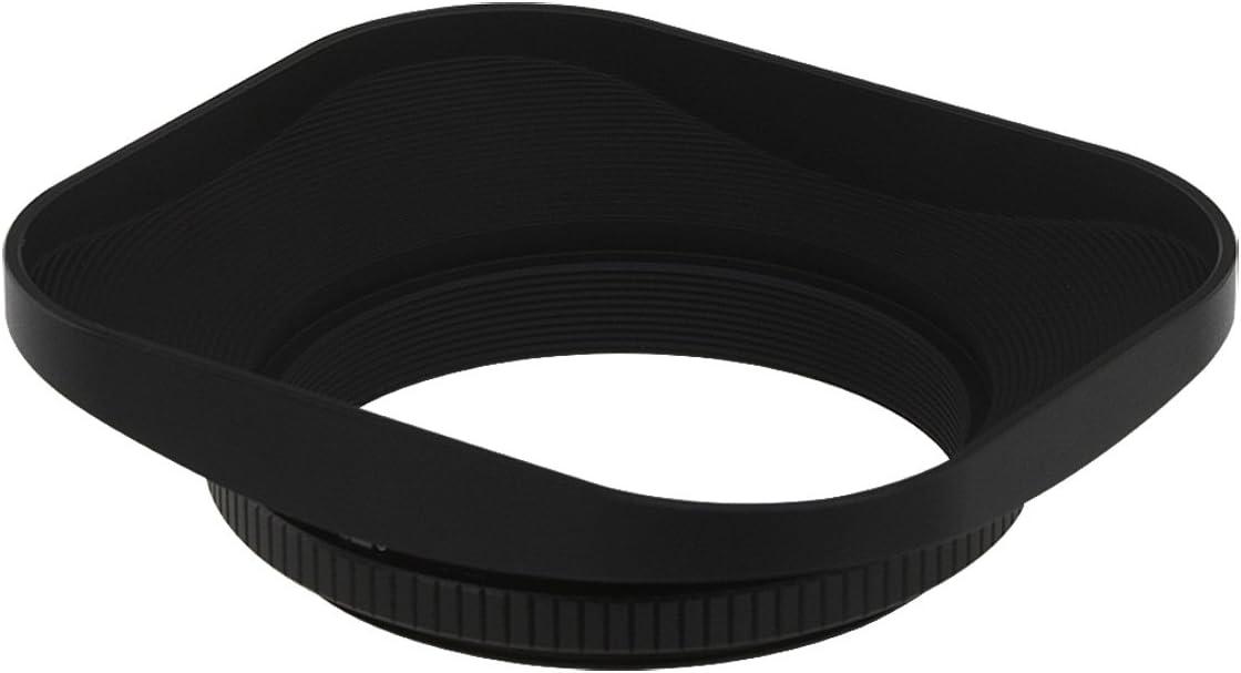 Mugast Camera Lens Hood,2Pcs 39 mm Professional Aluminium Alloy Hollow Out Lens Hood with Lens Cover,for Leica Camera