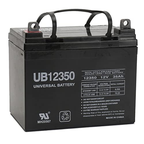Universal Power Group 12V 35Ah Battery For John Deere Lawn & Garden Tractor Riding Mower