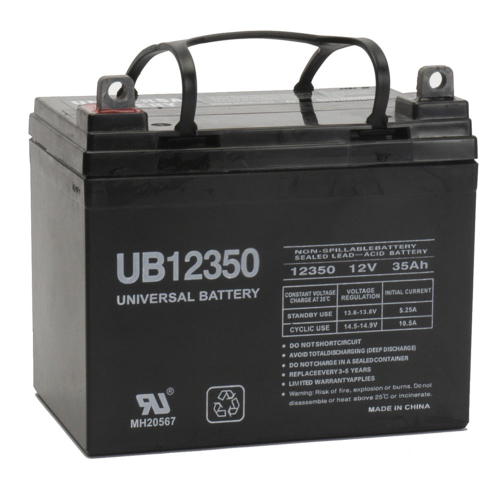 BATTERY,12V,33Ah,QUICKIE BEC 40,P110 14'',P100,STANDARD by Universal Power Group