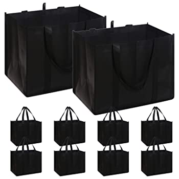 Diomell Set Of 10 Reusable Grocery Bags
