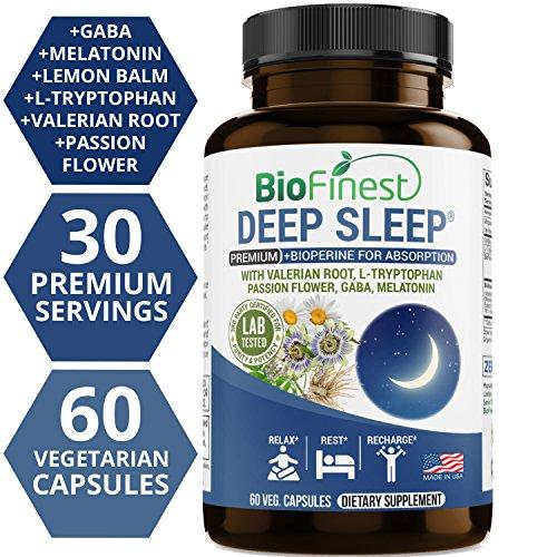 Biofinest Deep Sleep Formula - with Melatonin Lemon Balm Val