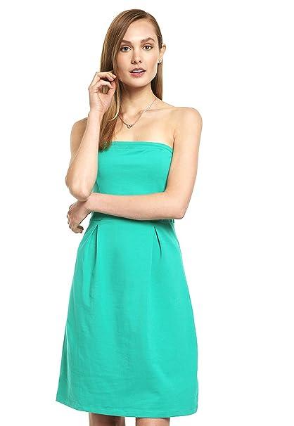 Accesorios para vestido strapless verde