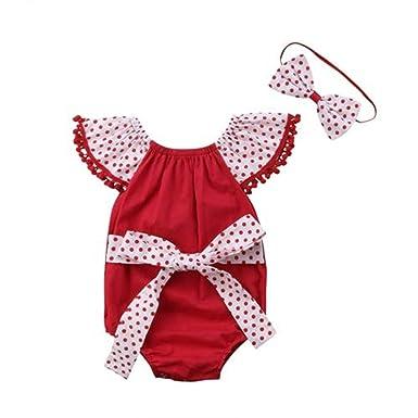 Amazon.com: Disfraz de bebé para niña, diseño de lazo ...