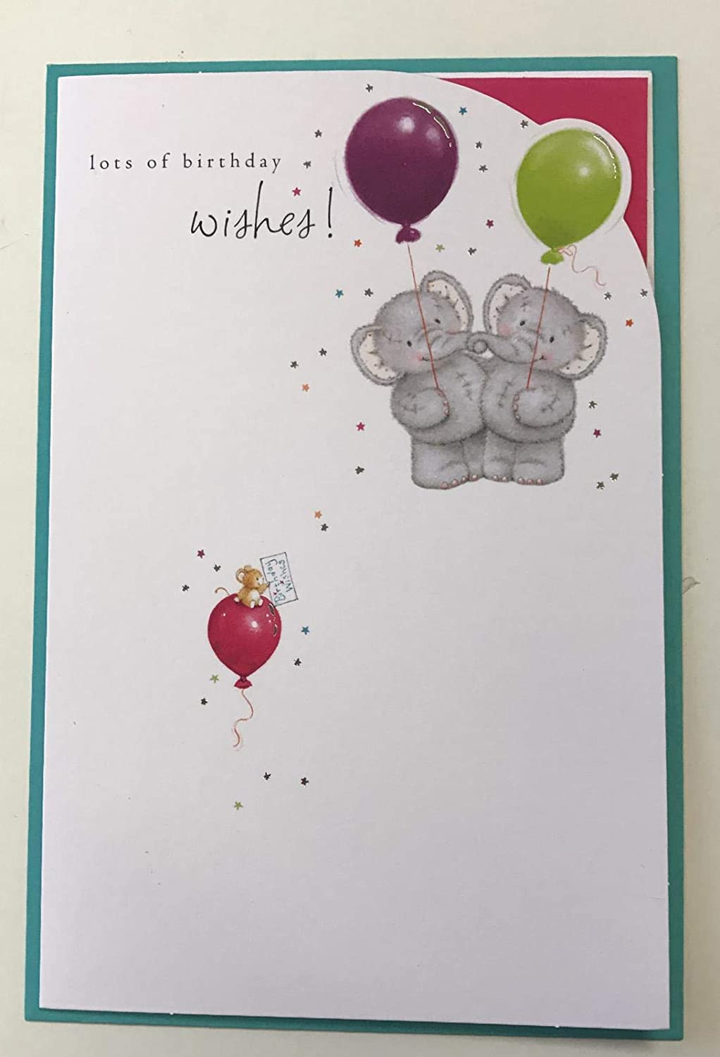 Astounding Amazon Com Elliot And Buttons Lots Of Birthday Wishes Greetings Personalised Birthday Cards Veneteletsinfo