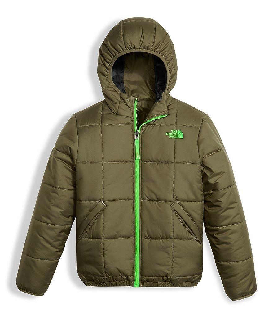 bc6a52e00 Amazon.com  The North Face Boy s Reversible Perrito Jacket - Burnt ...