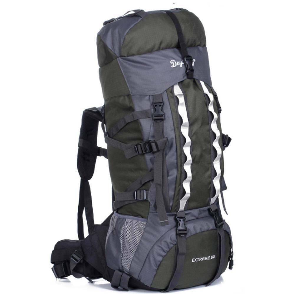 SZH&BEIB Wanderrucksack Extra Large Kapazität 80L für Outdoor-Reisetasche wasserdicht Nylon B071YXJB6X Wanderruckscke Modern