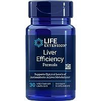 Life Extension Liver Efficiency Formula 30 Vegetarian Capsules