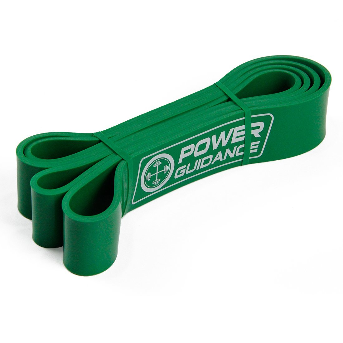 POWER GUIDANCE Pull Up Assist Bands - Stretch Resistance Band - Mobility Band - Powerlifting Bands - by Perfect for Body Stretching, Powerlifting, Resistance Training - Single Unit- Green by POWER GUIDANCE (Image #8)