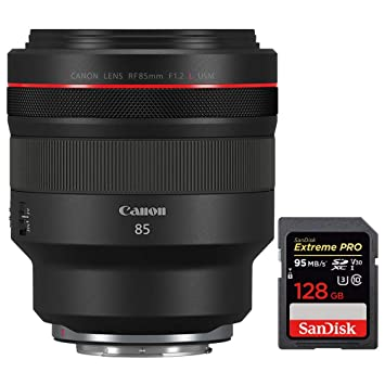 Canon RF 85 mm F1.2 L USM Lente para EOS R Sistema RF Mount sin ...