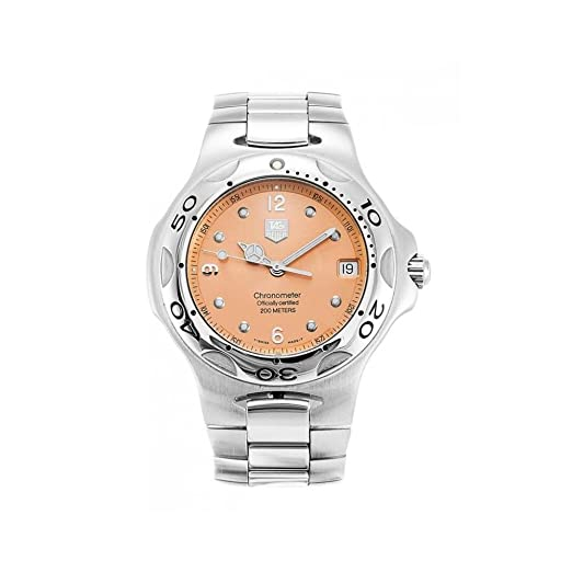 Reloj Tag Heuer Kirium wl5114 automático acero quandrante Oro Rosa Correa Acero: Amazon.es: Relojes