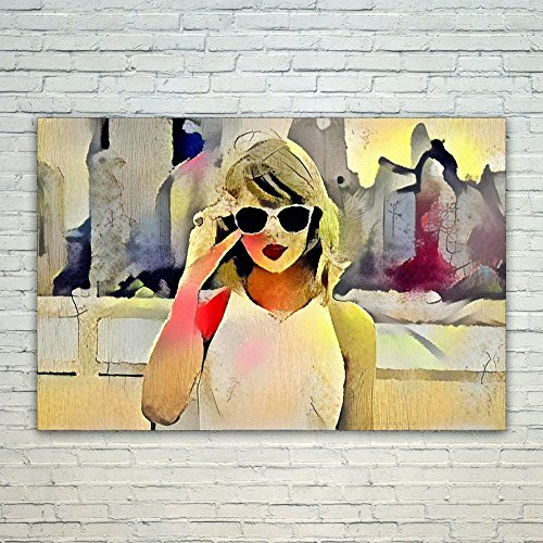 Westlake Art Taylor Swift Music Artist Pop Art 11x17in Modern Poster Prints Artwork Abstract Paintings Pictures Printed Wall Art For Home Office