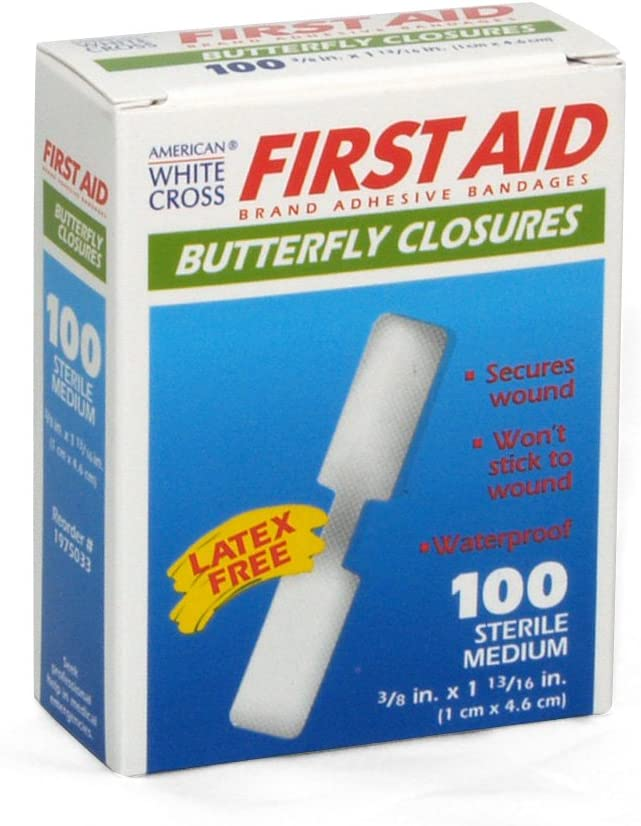 Medique Products 60233 Butterfly Bandage, Medium