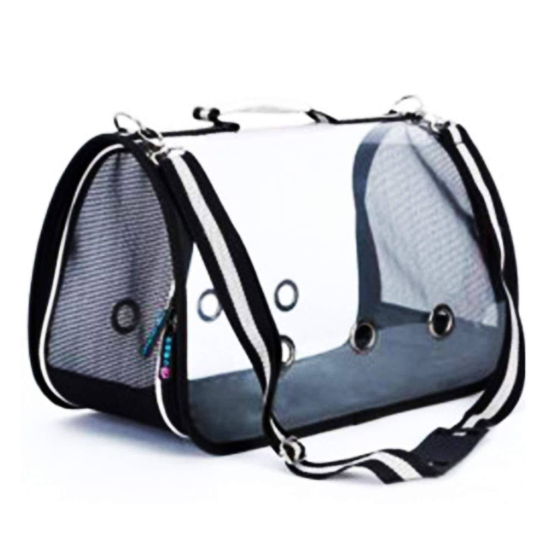 White M White M FGJFA Portable Transparent Pet Bag Cat Dog Shoulder Bag Pet Out Bag Portable Backpack Pet Supplies