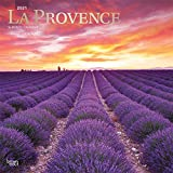 La Provence 2021 12 x 12 Inch Monthly Square Wall Calendar, Scenic Travel Europe France