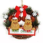 Convinced-Front-Door-Decor-Wall-Dcor20CM-Christmas-Party-Xmas-Tree-Leaves-Ornaments-Hanging-Decorations