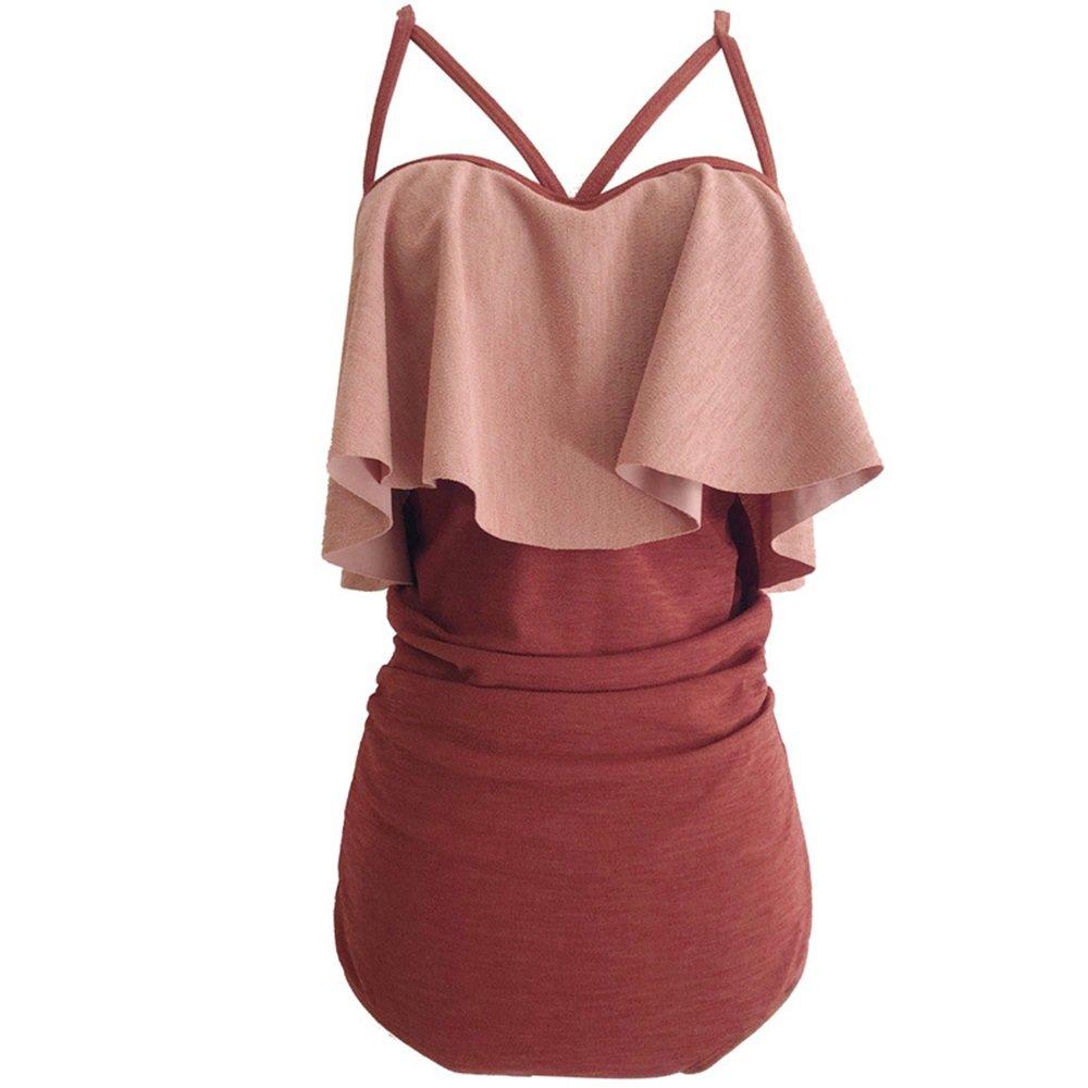 女性の 水着 保守的な 女性の服 スリング シャム スパ 水着 に適して 水泳 ウェディング エクササイズ スパ (Size : XL) B07F2GMF99 X-Large