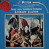 Piston: Symphony No. 6/The Incredible Flutist/3 New England Sketches