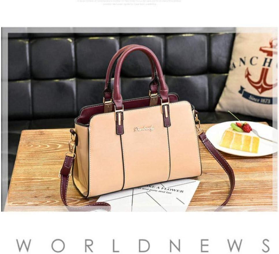 Leathario PU Tote Shoulder Bag Handbag shopper tote bag Top-handle bag for women