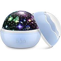 Dreamingbox Sterrenprojector/Nachtlampje - Roze/Blauw/Zwart/Wit - Kerst Speelgoed & Cadeaus voor Kinderen